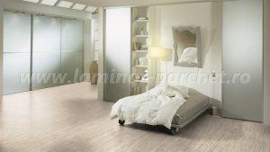 Kronotex Dynamic Clic Listone bianco 2961 dormitor