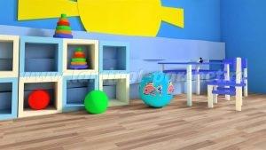 Kronotex Dynamic Clic Teak Muna 4172 camera copii