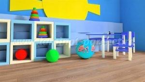 Kronotex Exquisit Stejar Stirling medium 2805 camera copii