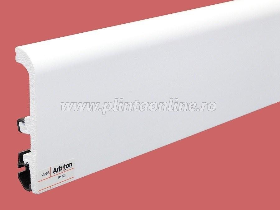 Plinta decorativa alba P1020