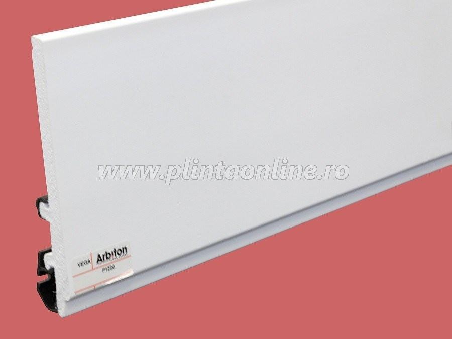 Plinta decorativa alba duropolimer P1220