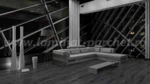 Kronotex Exquisit Stejar Prestige grey 4167 living 2