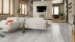 Kronotex Robusto Stejar alb 3181 living