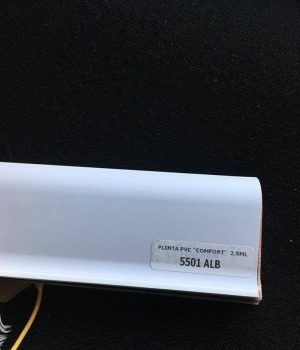 Plinta flexibila pvc BEST 5501 Alb