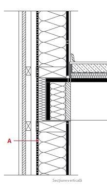 sectiune verticala